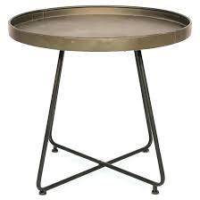 round metal bedside table outdoor side wood legs black tables uk round metal bedside table