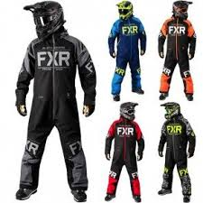 Fxr Racing Clutch Insulated Mens Snowmobile Monosuit Fxr