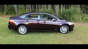 Best Detailed Walkaround 2014 Toyota Avalon Hybrid Limited - YouTube