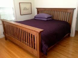 Charming Mission Style Bed Frame Plans 99 About Remodel Interior ...