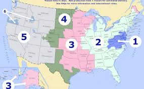 Usps Zone Chart For Shipping Usps Shipping Zones Removal And Shipping Services