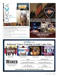 Kingsbury Hall Utah Seating Chart In Magazine Downtown Alliance