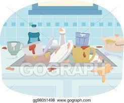 dishes in sink clipart. Delighful Dishes Kitchen Sink Dirty Dishes With In Clipart Y