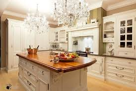 kitchen island enchanting white in classic style pretty island decorated by crystal chandeliers practicals cabinetry