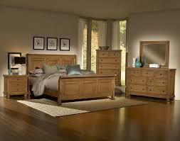 Made In Usa Bedroom Furniture Vaughan Bassett Furniture Bed 550 Buy Reflections Oak Sleigh Bed