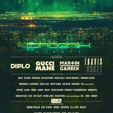 Phoenix Lights 2019 Time Slots Phoenix Lights Announces Second Round Lineup For 2 Day Music