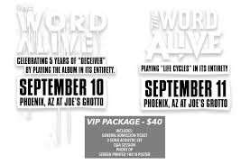 ticketspin the word alive sick tour tickets the word alive sick tour tickets