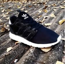 adidas shoes black and white. shoes black white sole adidas running stripes and