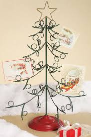 Christmas Card Display Stand Standing Metal Christmas Tree Card Holder From Creative Coop 8