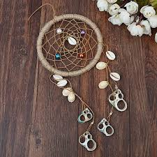 Beautiful Dream Catcher Images Impressive Beautiful Dreamcatcher Wind Chimes Indian Style Feather Shell