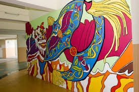 very colorful mural paint art on wall mural artist singapore with an impressive collection of 30 mural painting art naldz graphics