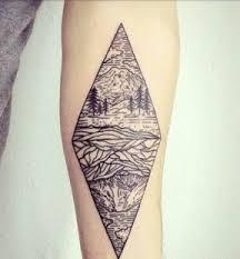 Geometrická Tatto Design Slunečnicecz
