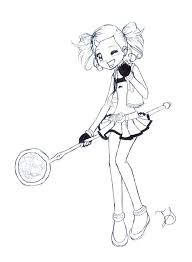 Powerpuff Girls Z Coloring Pages Bubbles Acnee