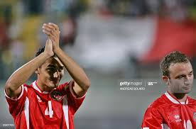 Malta's Roderick Briffa and his teammates Ivan Woods salute the fan... News  Photo - Getty Images