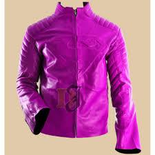 women s pink superman style slim leather jacket women s faux leather jacket