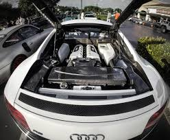 Audi R8 V10 Engine Bay | Take at Carlsbad Cars and Coffee In… | Flickr