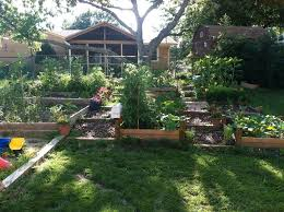 picture of building a raised garden into a hillside