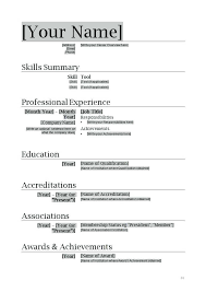 Resume Templates Word Mac Delectable Free Resume Templates For Microsoft Word Resume Templates Doc Free