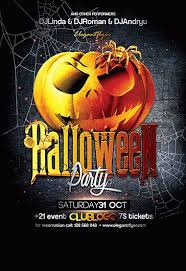 halloween template flyer halloween party flyer psd template facebook cover by