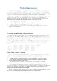 writing a critical evaluation essay just walk on by how to write   critique essay toreto co how to write a paper on journal article format example of