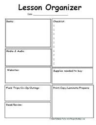 Downloadable Lesson Plan Templates Free Printable Lesson Plan Template For Preschool 6 Best Images Of