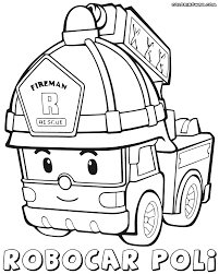 robocar poli coloring pages robocar poli drawing at getdrawings