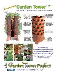 Kitchen Scrap Gardening Garden Tower Vertical Composting Garden Garden Tower United Kingdom