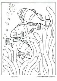 Small Picture This fancy fish coloring book page is from our classic Lets