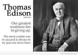 Thomas Edison Quotes Fascinating Thomas A Edison Quotes