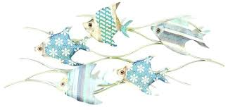 wall arts metal fish wall art school of decor design ideas couple decorating luxury best game