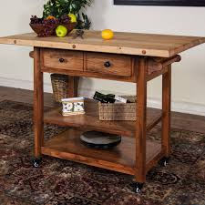Granite Kitchen Cart Kitchen Carts Kitchen Island Cart With Drawers Acacia Wood Cart