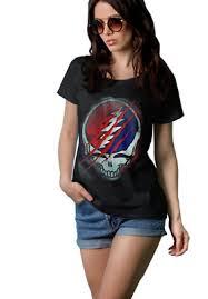 Grateful Dead Old Glory T Shirt Tees For Women Ebay
