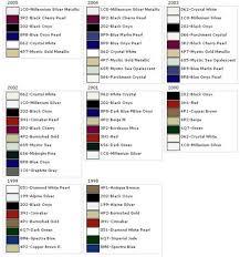 98 05 Gs Exterior Color Chart Clublexus Lexus Forum