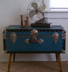 Steamer Trunk Turned Coffe Table. I Would Like To Do