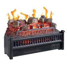 electric log insert with heater