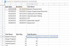 Gantt Chart Using Google Sheets How To Create A Gantt Chart In Google Sheets
