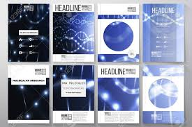Dark Flyer Set Of Business Templates For Brochure Flyer Or Booklet Dna