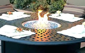 propane fire pit inserts qualified round