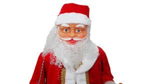 Boneco Papai Noel Musical - guerradosgames
