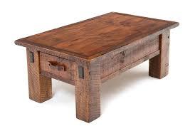 salvaged beam coffee table reclaimed barn wood