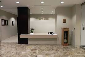corporate office lobby. Appealing Tidewater Corporate Office New Lobby Contractors Inc Commercial General Space Interior