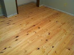 knotty pine hardwood flooring