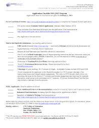 Graduate School Admissions Resume Sample Resume Format For Graduate School Resume and Cover Letter Resume 1