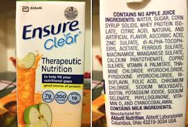 ensure drink side effects exposed