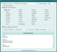 Media - Free Freeware Generator Name Download Random