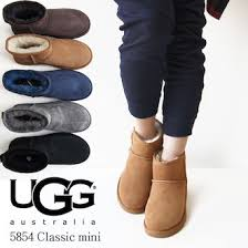 Ugg UGG genuine Classic Mini classic mini Sheepskin boots black chestnut  chocolate grey Navy 5854