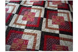 nine patch bento box quilt