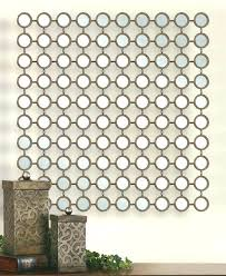 metal wall art with mirrors rectangle wall decor basket metal wall art with mirrors small