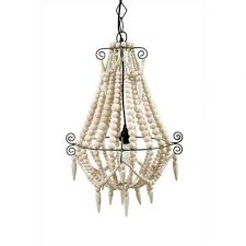 chandeliers white wood beaded chandelier orb chandeliers images