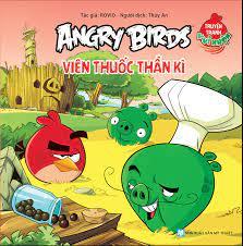 Angrybirds Truyện Tranh Vui Nhộn - Viên Thuốc Thần Kỳ – Nhà sách Tân Việt